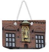 Ornate Building Artwork In Copenhagen Weekender Tote Bag
