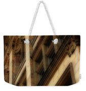Ornate Facade Weekender Tote Bag