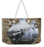 Ornate Garden Urn Weekender Tote Bag