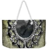 Ornate Metal Mirror Reflecting Church Weekender Tote Bag