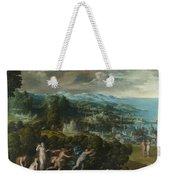 Orpheus And Eurydice Weekender Tote Bag