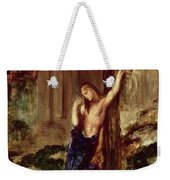 Orpheus At The Tomb Of Eurydice Weekender Tote Bag