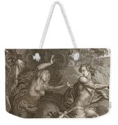 Orpheus, Leading Eurydice Out Of Hell Weekender Tote Bag