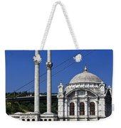 Ortakoy Mosque Weekender Tote Bag