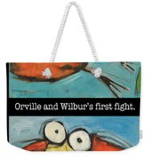 Orville And Wilburs First Flight Weekender Tote Bag