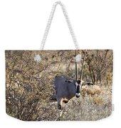 Oryx Long Horned Antelope Weekender Tote Bag