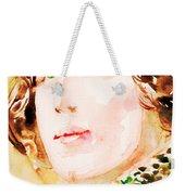 Oscar Wilde Watercolor Portrait.3 Weekender Tote Bag