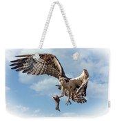 Osprey In The Clouds Weekender Tote Bag