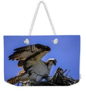Osprey In The Nest Weekender Tote Bag