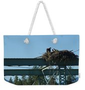 Osprey Nest With Mom And Chicks Weekender Tote Bag