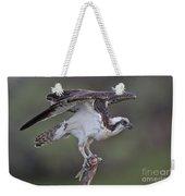 Osprey With Fish Weekender Tote Bag