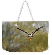 Osprey With Goldfish Weekender Tote Bag