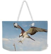 Osprey With Talons Extended Weekender Tote Bag