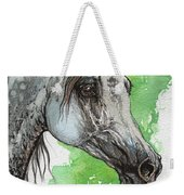 Ostragon Polish Arabian Horse Painting 1 Weekender Tote Bag