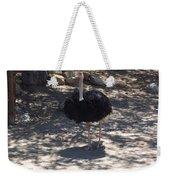Ostrich Dance Weekender Tote Bag