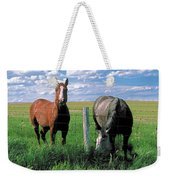 Other Side Of The Fence Weekender Tote Bag