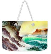 Othere Side Of Diamondhead Waikiki Hawaii Weekender Tote Bag