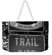 Oregon Trail Sign A Weekender Tote Bag