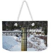 Otter Brook Dam Weekender Tote Bag