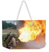 Ouch Weekender Tote Bag by Thomas Woolworth