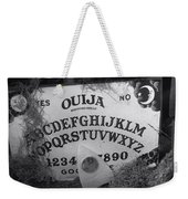 Ouija Board Queen Mary Ocean Liner Bw Weekender Tote Bag