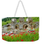 Our Entry Into Ephesus And Its Baths-turkey Weekender Tote Bag