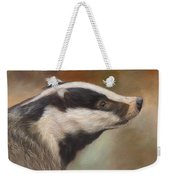 Our Friend The Badger Weekender Tote Bag