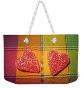 Our Hearts On The Table Weekender Tote Bag