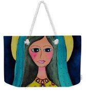 Our Lady Weekender Tote Bag