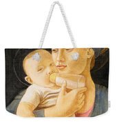 Our Lady Nursing The Child Weekender Tote Bag