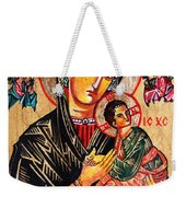 Our Lady Of Perpetual Help Icon Weekender Tote Bag