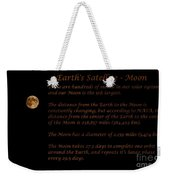 Our Moon Weekender Tote Bag