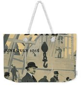 Our New Dry Dock Weekender Tote Bag by Edward Hopper