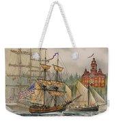 Our Seafaring Heritage Weekender Tote Bag