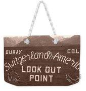 Ouray Colorado Weekender Tote Bag