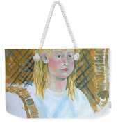 Out At The Farm Weekender Tote Bag