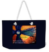 Out Beyond Ideas Weekender Tote Bag by Catherine McCoy