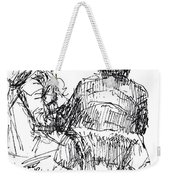 Out For A Coffee 2 Weekender Tote Bag