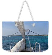 Out For A Sail Weekender Tote Bag
