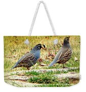 Out For A Walk Weekender Tote Bag