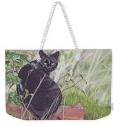 Out Hunting Weekender Tote Bag