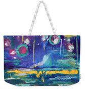 Out In The Universe Weekender Tote Bag