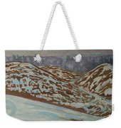 Out My Back Window Weekender Tote Bag