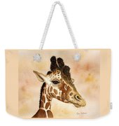 Out Of Africa's Giraffe Weekender Tote Bag