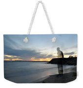 Out Of Body...out Of Mind...yet In Peace Weekender Tote Bag