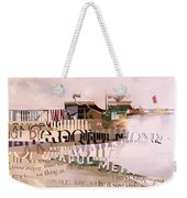 Out Of Season Weekender Tote Bag by Jeremy Annett