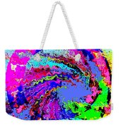 Out Of The Blue Wave Abstract Weekender Tote Bag