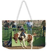 Out Of The Chute Weekender Tote Bag