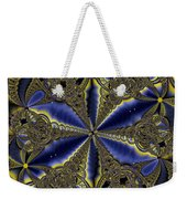 Out Of The Negative Into The Blue Flower Weekender Tote Bag