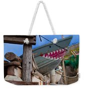 Out Of The Water - There's A Shark Weekender Tote Bag